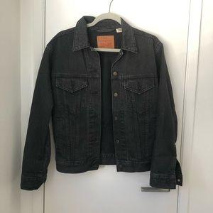 Levi black denim jacket